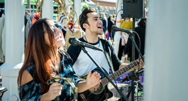 Live music performances at Pier Fest